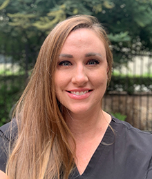 Headshot of Dental Hygienist Pamela